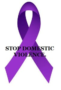 purple Stop Domestic Violence